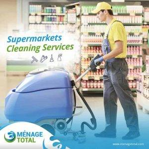 store cleaning