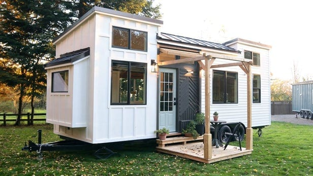 Tiny House Canada The Developers Built A Riser In The