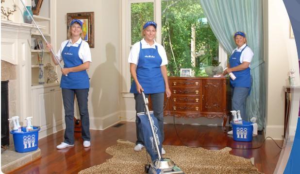 floor waxing cleaning