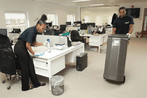 office cleaner service