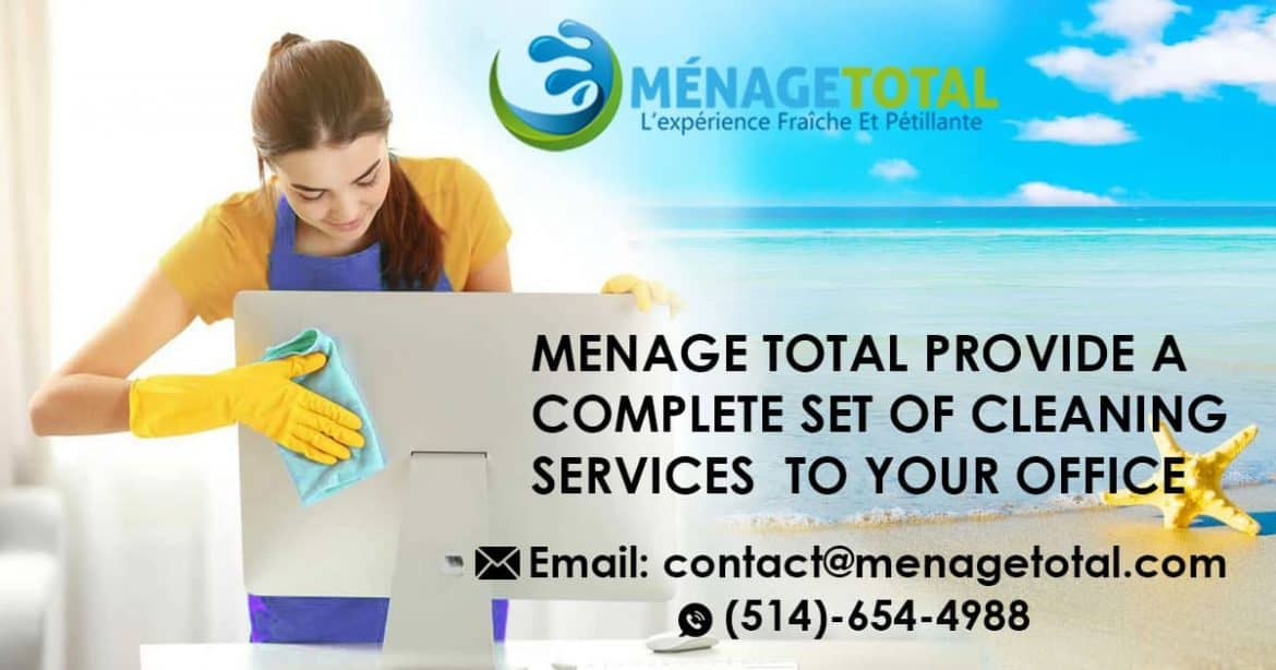 Montreal Cleaning Lady - Menage Total