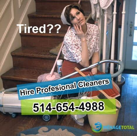 Hire a Professional Cleaning Service