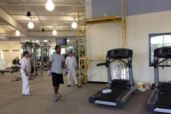 Sports Club Cleaning Services