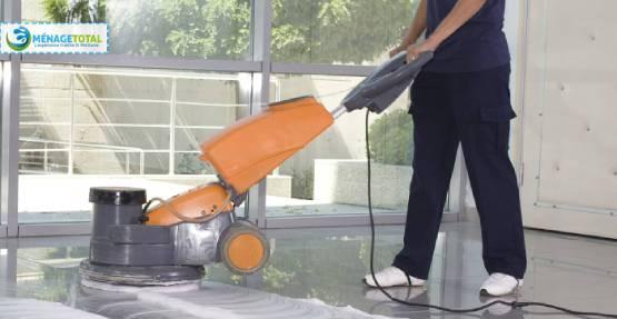 Services de nettoyage des sols