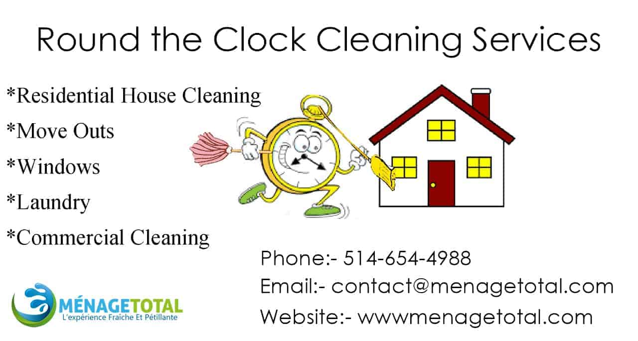 Round the Clock Cleaning Services
