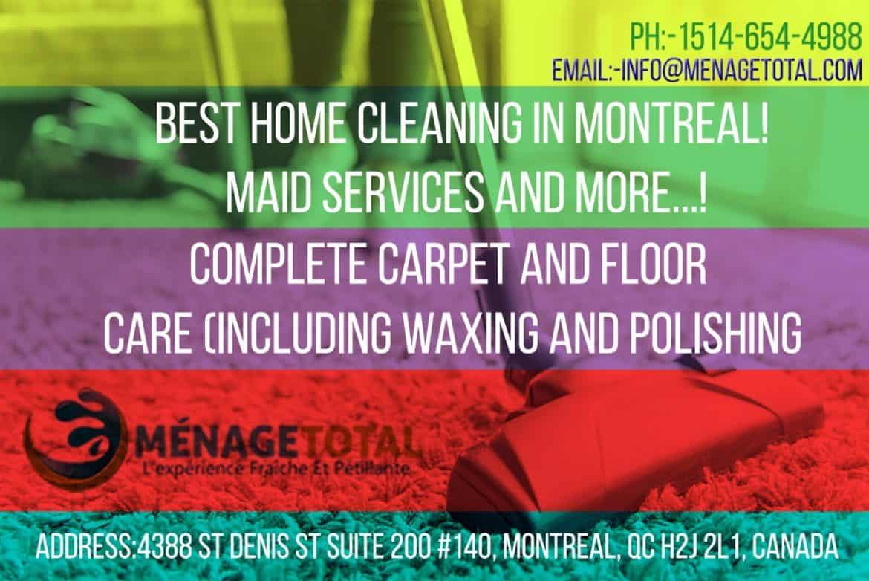 Meilleur Services de nettoyage de tapis