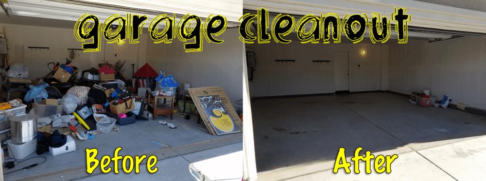 Garage Clean Out Service