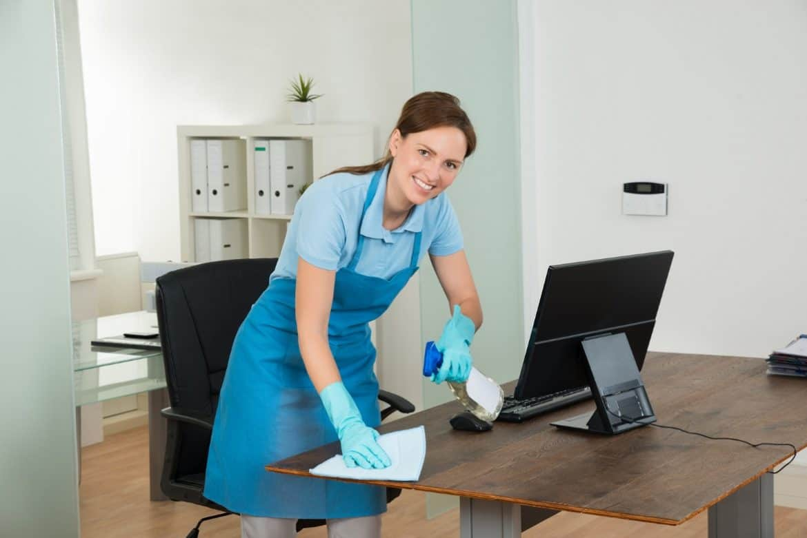 Office Table Cleaning Services Montreal