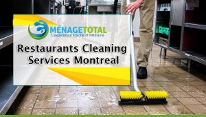 Restaurants Cleaning Services Montreal