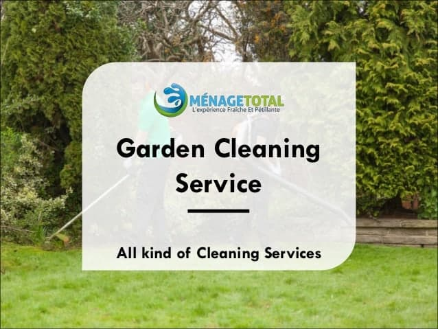 Garden Cleaning Services Montreal