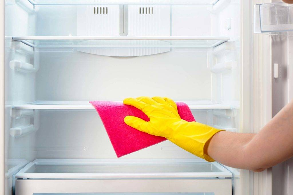 Inside Cleaning fridge