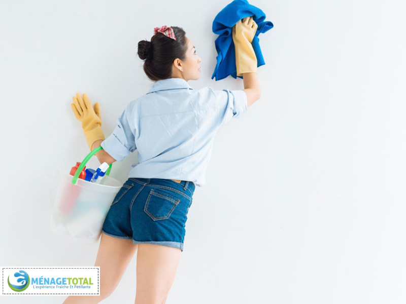 Cleaning Walls