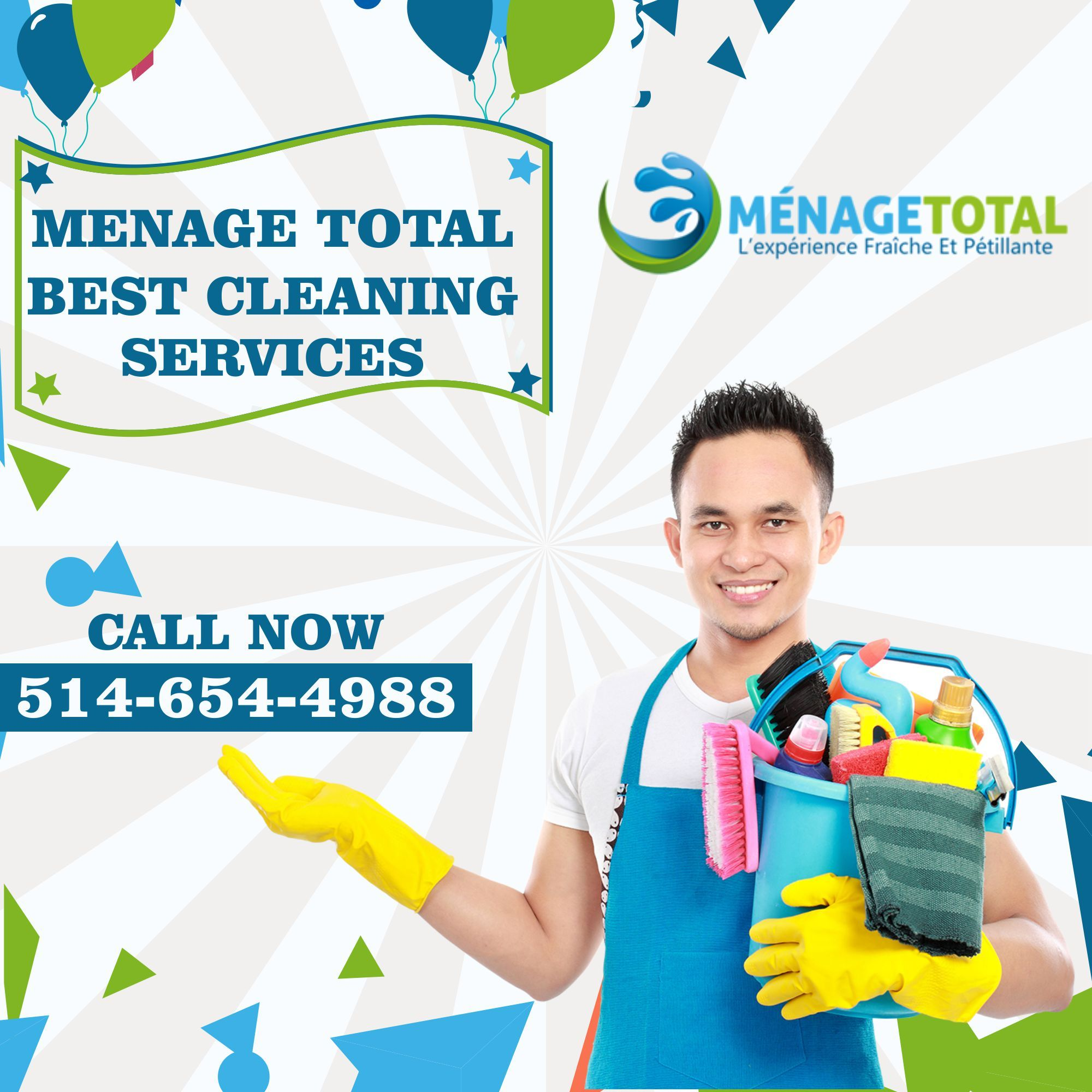 Menage Total Best Cleaning Service