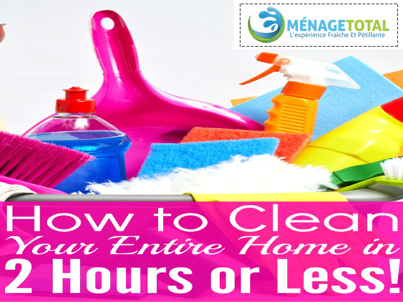 How To Clean Home in 2 hours