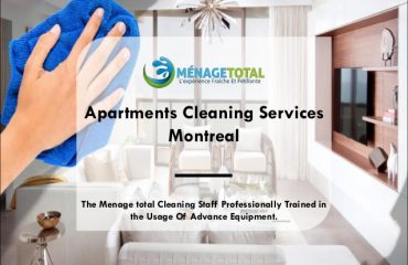 apartments cleaning service Montreal