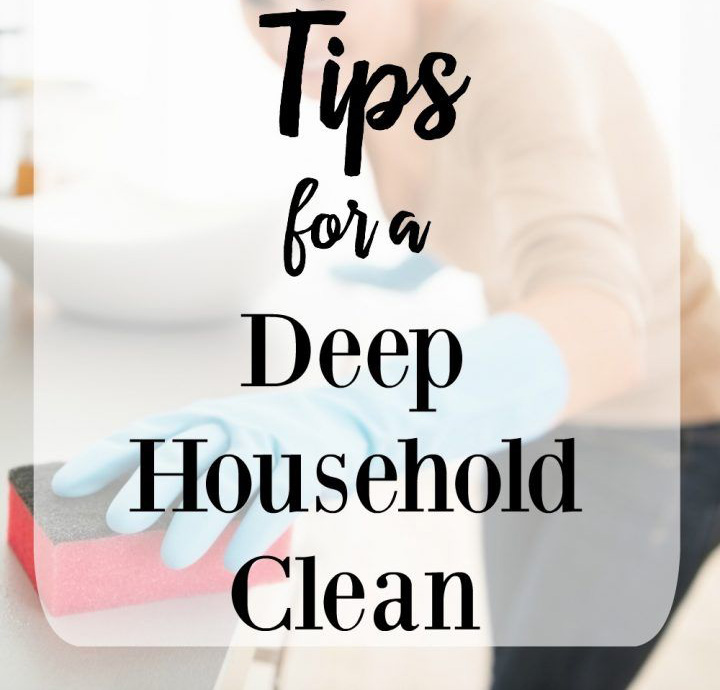 Deep House Cleaning Tips