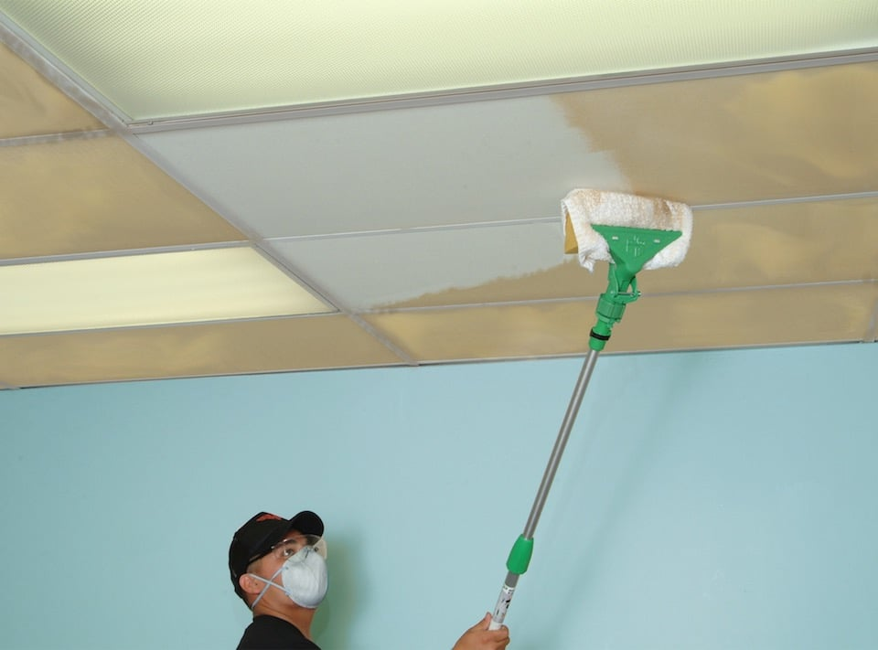 Ceiling and Wall Cleaning Services