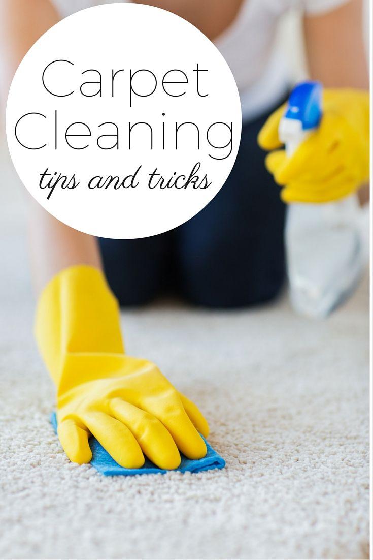 How do I clean my carpets myself?