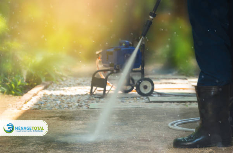 High-Pressure Cleaning