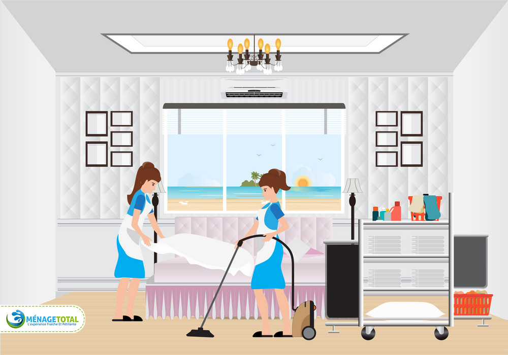 hotel room cleaning services
